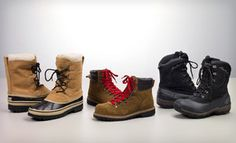Groupon - $59 for Eddie Bauer Men's Winter Boots (Up to $120 List Price). 42 Options Available. Free Shipping and Free Returns. in Online Deal. Groupon deal price: $59.00