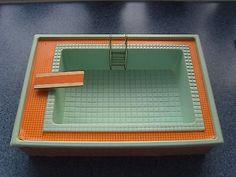 Vintage Lundby - Rare 1970's Swimming Pool