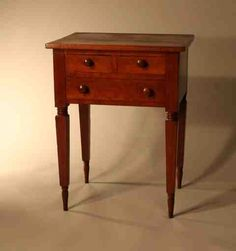 one drawer stand, southern central KY, ca 1830 Decor, Drawer Table, Furniture, Primitive Decorating, Small Tables, Art Furniture, American Furniture, Southern Furniture, Vintage Furniture