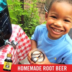 Cool off on a hot summer day with homemade root beer!