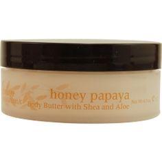 Sensory Fusion Honey Papaya body butter with shea and aloe