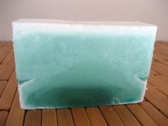 Winter Spruce Soap Bar by Abbalope on Etsy, $5.00