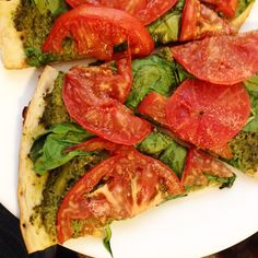 ... - Mains (Pizza) on Pinterest | Vegan pizza, Polenta pizza and Pizza