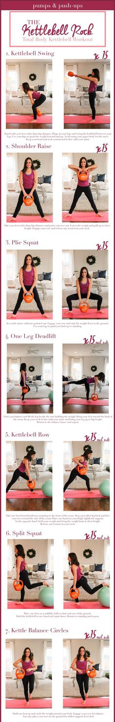 Kettlebell workout - at home workout using a stability ball and a kettlebell #weightloss #loseweight #weightlossworkout #kettlebellworkout #homeworkout #fatburning | Posted By: NewHowToLoseBellyFat.com