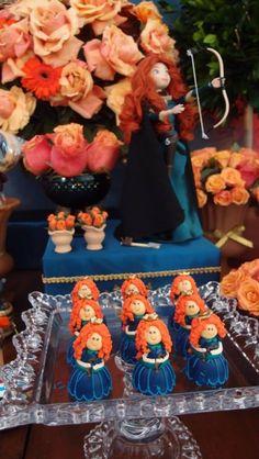 PRINCESA MERIDA - ANTES DA FESTA