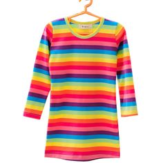 Free-Shipping-Novelty-Children-Clothing-Manufacturers-Colorful-font-b-Rainbow-b-font-font-b-Dresses-b.jpg (800×800)