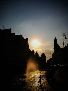 Wroclaw hot afternoon