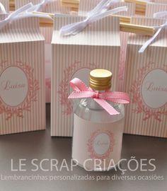 Specials gifts by LESCRAP  MINI DIFUSOR DE AMBIENTE - MATERNIDADE Para a chegada da Luísa a mamãe encomendou mini difusor de ambiente modelo cônico de 60 ml com rotulo e caixinha personalizada.