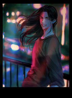 Fanarts Anime, Anime Films, Anime Demon, Anime Manga, Cool Anime Pictures, Tokyo Ravens, Some Funny Videos, Black Dragon, Purple Aesthetic