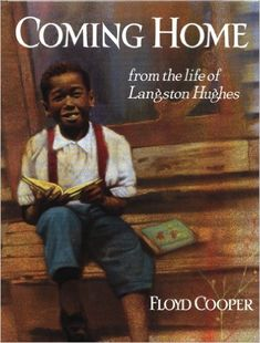 Coming Home from the life of Langston Hughes by Floyd Cooper, 1994 First Edition, Autographed History Books For Kids, Black History Books, Books For Boys, Black History Month, Childrens Books, African American Authors, American Children, Black Children's Books, Langston Hughes