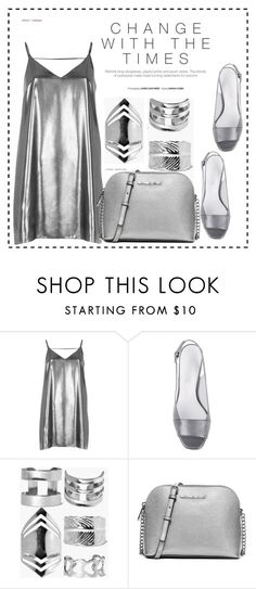 """Untitled #148"" by oanamaria660 ❤ liked on Polyvore featuring River Island, Boohoo and MICHAEL Michael Kors"