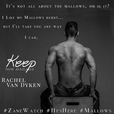 ⭐⭐⭐SURPRISE⭐⭐⭐ Keep by Rachel Van Dyken….LIVE