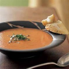 Tomato-Basil Soup | MyRecipes.com