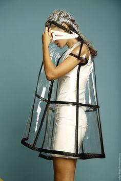 Transparent raincoat / Верхняя одежда ручной работы. Плащ прозрачный. Валентина Хан. Ярмарка Мастеров. Платье, fashion