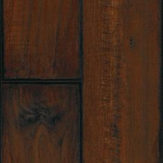 "A unique 5"" wide plank with realistic registered embossing and intricate character from rich weathered graining and planed and glazed edges. Inspired by the lush forests that surround the massive castles in Ireland, Ashford Walnut comes in two colors, chosen to enhance today's furniture and cabinetry trends."