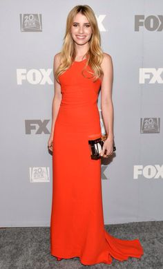 Emma Roberts wearing Stella McCartney at Fox's Emmy's After Party in 2013
