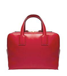 Loewe Red Large 'Goya' Tote Bag