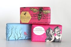 Woolworths Contemporary Soaps are Wrapped in Printed Paper #packaging trendhunter.com
