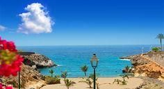 Beach Playa Paraiso in Costa Adeje - Tenerife, Canaries