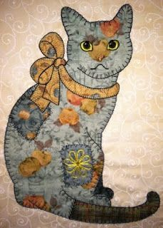 Cats And Dogs 'Cat And Mouse' Card | Dog cat, Mice and Cat : applique cat quilt patterns - Adamdwight.com