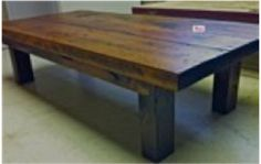 and reclaimed wood Pine Coffee Table, Coffee And End Tables, Upcycled Furniture, Rustic Furniture, Fireplace Mantels, Wood Table, Barn Wood, Wood Projects, Dining Bench