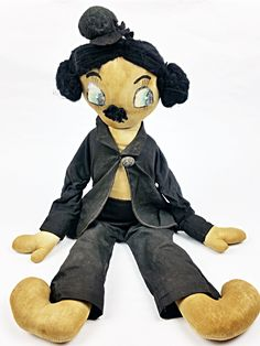 Charlot poupée de chiffon Vintage