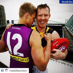 #Repost @maddiesvision ・・・ @nriewoldt & Jack climbed to the roof of @etihadstadiumau to launch @stkildafc & @richmond_fc special guernseys paying tribute to Maddie for #MaddiesMatch on July 19th @etihadstadiumau. Go to mrv.org.au to purchase the Saints guernsey or #FightLikeMaddie purple tees! All proceeds to MRV! And make sure you get your tickets for #MaddiesMatch we want a packed purple stadium!