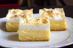 Czech Recipes, Russian Recipes, Cooking Time, Cooking Recipes, Cream Cake, Desert Recipes, Cake Cookies, Vanilla Cake, Sweet Recipes