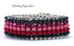 Simply Marvelous Darling Pink/Black by SturdyGirlDesigns on Etsy