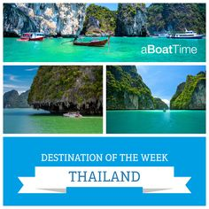 Browse through Thailand with the rental of one of the boats of aBoatTime. Meet one of the Southeast Asian pearls aboard one of our boats in total comfort Boat Rental, Thailand, Asian