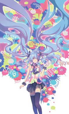 """Vocaloid - Hatsune Miku from """"Tell Your World"""""""