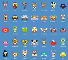 Printable Animal Masks For Kids