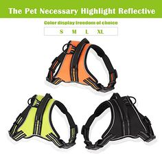 Ching Duole Outdoor Reflective Adventure Pet Vest with handle and leash dog vest harness -- For more information, visit image link. (This is an Amazon affiliate link)