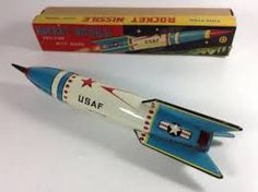 tin rocket
