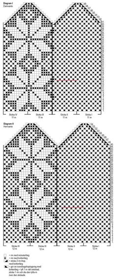 Nordic Yarns and Design since 1928 Mittens Pattern, Knit Mittens, Mitten Gloves, Knitting Socks, Knitted Hats, Knitting Charts, Knitting Patterns, Crochet Patterns, Fair Isle Chart