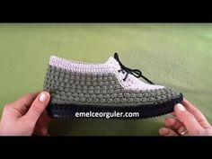 Pistachio Home Shoes Model Yuotube ist frei, meinen Kanal zu abonnieren. Crochet Shoes Pattern, Shoe Pattern, Crochet Slippers, Crochet Box, Filet Crochet, Irish Crochet, Knit Shoes, Sock Shoes, Cutwork Embroidery