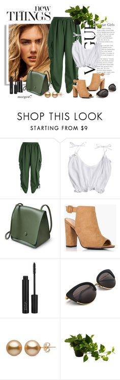 """""""zielone"""" by margo47 ❤ liked on Polyvore featuring Boohoo and Arbonne"""