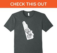 Mens Delaware Home State Bike | Cycling & Triathlon Gift T-Shirt Large Dark Heather - Sports shirts (*Amazon Partner-Link)
