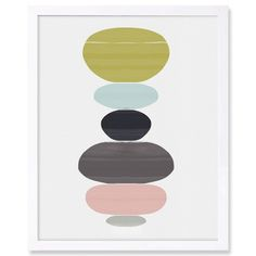 Langley Street Perfect Balance Framed Graphic Art