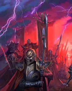 Warhammer Dark Elves, Warhammer Fantasy, Fantasy Battle, Fantasy Art, Tartarus, Dark Eldar, Total War, Fantasy Miniatures, Medieval Art