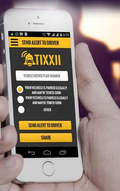Invention of the Week? Tixxii is the New App that Protects Your Vehicle  ... see more at InventorSpot.com