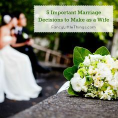 5 Important Marriage