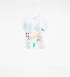 ZARA - NIÑOS - Camiseta muñecas