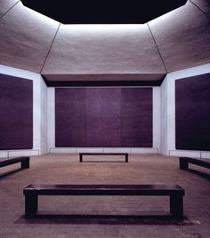 Rothko Chapel, 1971, Houston, Texas | Philip Johnson, Mark Rothko - One of my favourite places on the planet, even though I've never been there. Rothko is a genius.