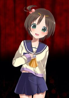 Mayu Corpse Party. She's where I got my nickname (not that my guts were splattered on a wall)