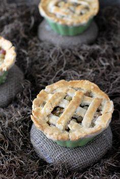 Tiny Gooseberry Pies | Boulder Locavore #pie #dessert