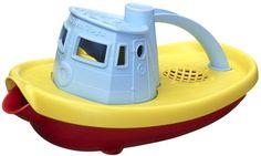 Green Toys Tugboat - Blue