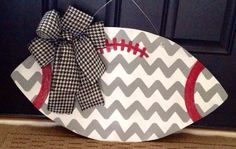 Alabama Chevron Football Door Hanger by SweetSophieJacks on Etsy