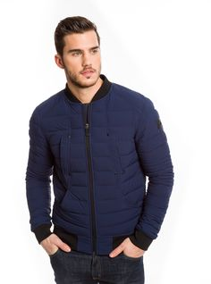LIGHTWEIGHT QUILTED BOMBER