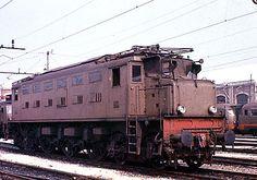 Locomotore n. Italy Train, Third Rail, Railway Museum, Rail Car, Electric Train, Electric Locomotive, Rolling Stock, Bahn, Steam Engine